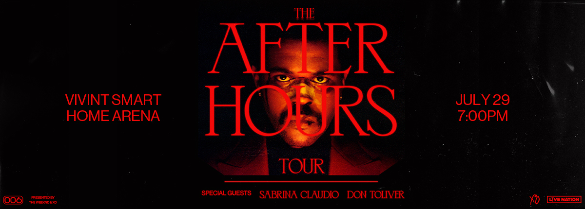 After Hours Tour, including The Weeknd at the Vivint Smart Home Arena